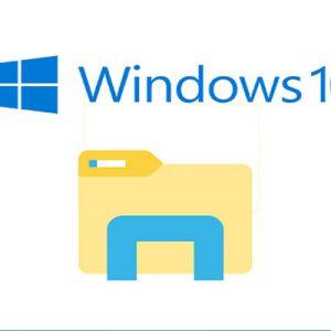 استفاده از فایل اکسپلورر بدون ماوس در ویندوز 10