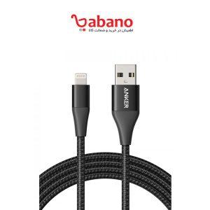 کابل تبدیل USB به لایتنینگ انکر مدل A8453 PowerLine II Plus طول 1.8 متر