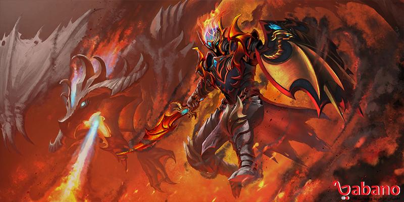 کانتر کردن هیروی Phantom Assassin با استفاده از هیروی Dragon Knight
