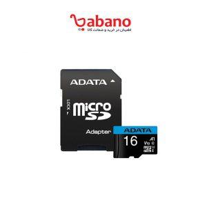 خرید کارت حافظه ی میکرو SD ای دیتا کلاس 10 ظرفیت 16 گیگ