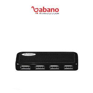 خرید هاب اورجینال 4 پورت USB 2.0 ای فورتک مدل HUB-64