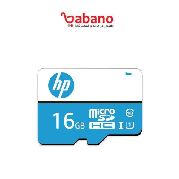 کارت حافظه microSDHC اچ پی مدل mi210 کلاس ۱۰ استاندارد