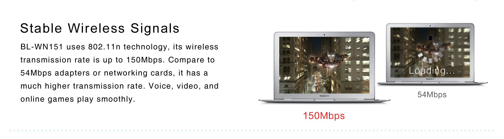 BL-WN151 150Mbps Wireless N USB Adapter