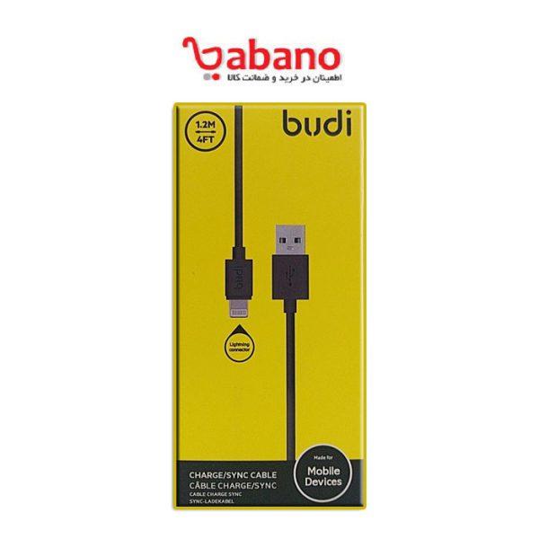 کابل لایتنینگ بودی Budi M8J023 Micro USB Cable توا