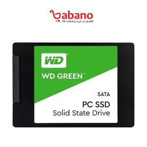 اس اس دی اینترنال وسترن دیجیتال Green ظرفیت 240 گیگابایت