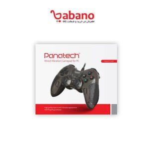 دسته بازی تک شوکدار حرفه ای Panatech مدل G502 مشکی