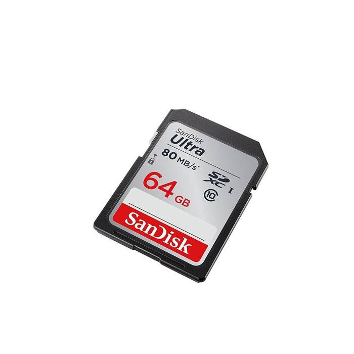 کارت حافظه SDXC سن دیسک مدل Ultra کلاس 10 استاندارد UHS-I سرعت 533X 120MBps ظرفیت 64 گیگابایت