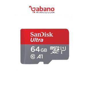 SanDisk Ultra MicroSD 64GB سرعت 100 کلاس 10