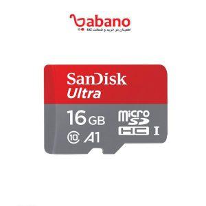 SanDisk Ultra MicroSD 16GB سرعت 80 کلاس 10