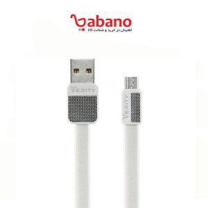 کابل تبدیل USB به microUSB وریتی مدل CB3126A طول ۱ متر