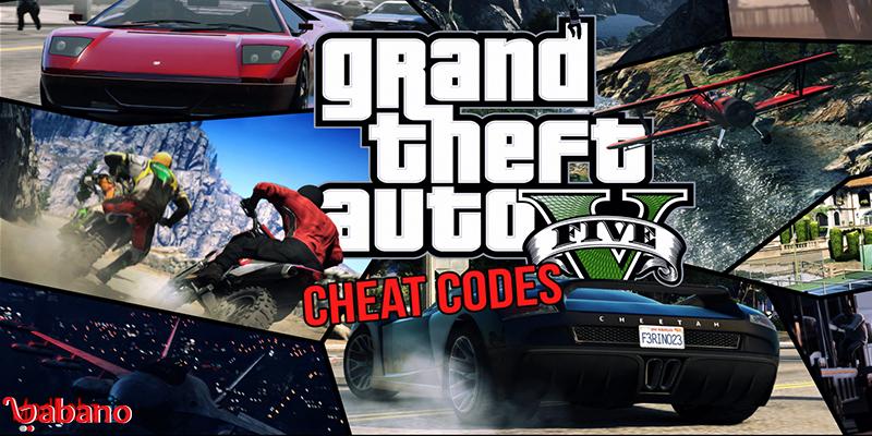 لیست چیت کد GTA5:
