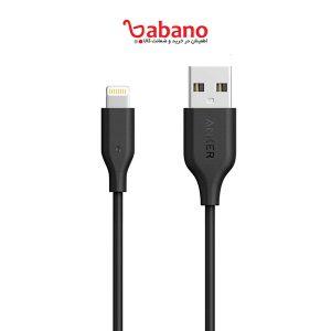 کابل تبدیل USB به لایتنینگ انکر مدل A8111 PowerLine به طول 90 سانتی متر