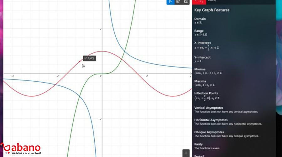 کشیدن نمودار با ماشین حساب ویندوز چگونه ممکن است؟