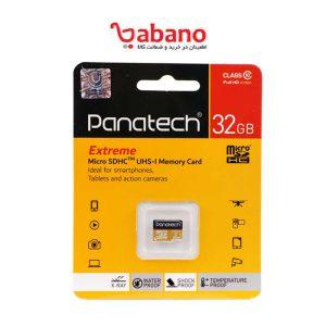 رم میکرو 32 گیگ پاناتک Panatech Extreme C10