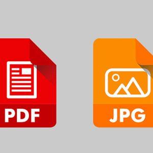 تبدیل pdf به عکس با فوتوشاپ ،به راحتی pdf را به عکس تبدیل کنید!