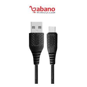 کابل تبدیل USB به microUSB بیاند مدل BA-300 طول 1 متر