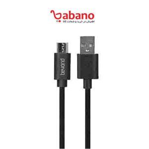 کابل تبدیل USB به microUSB بیاند مدل BA-313 طول 0.3 متر