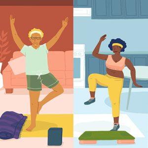 ورزش در خانه، در خانه خود لاغر شوید!