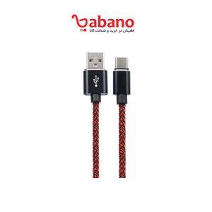کابل تبدیل USB به USB-C تسکو مدل TCC 170 طول 1 متر